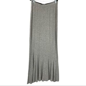 3/$25 Mossimo Grey Maxi Skirt Size M